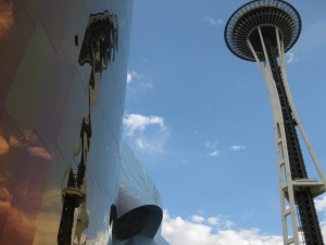 Space Needle through the eyes of Gehry & Paul Allen.